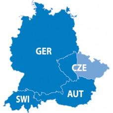 City Navigator® Europe NT – Germany / Austria / Switzerland / Czech Republic