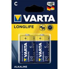 Varta LONGLIFE  EXTRA алк.  R14 C  2 бр.