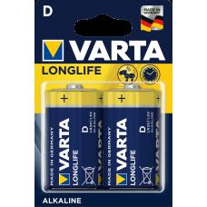 Varta LONGLIFE  EXTRA алк.  LR 20 D  2 бр.