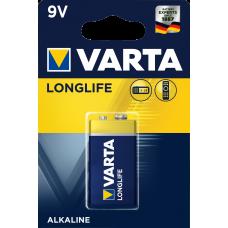 Varta LONGLIFE  EXTRA алк.  LR 22 9V - 1бр