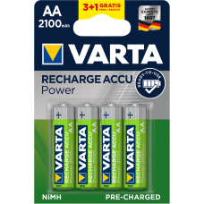 Varta Акумулаторни батерии Professional Accu 2100 mAh AA ready 2 use - 4бр