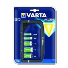 Varta Универсално зарядно   AA/AAA/9V/C/D